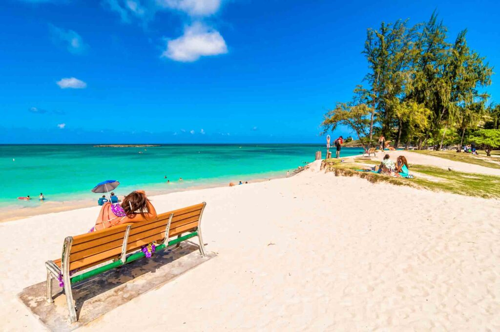 Kailua Beach is one of the beautiful places to visit in the US