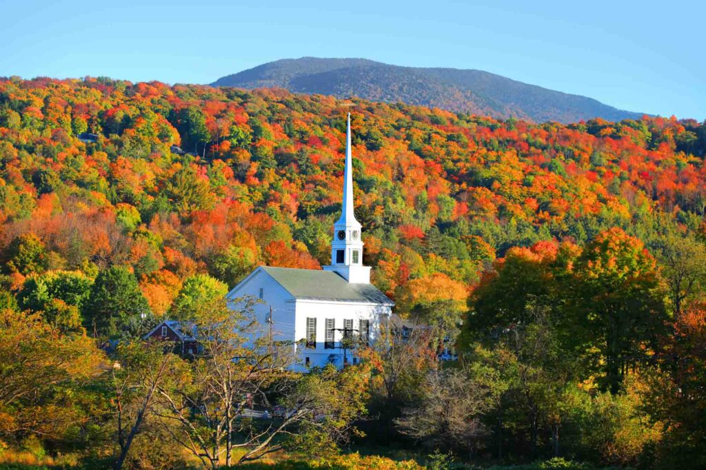 Stowe is one of the best places to visit in the US