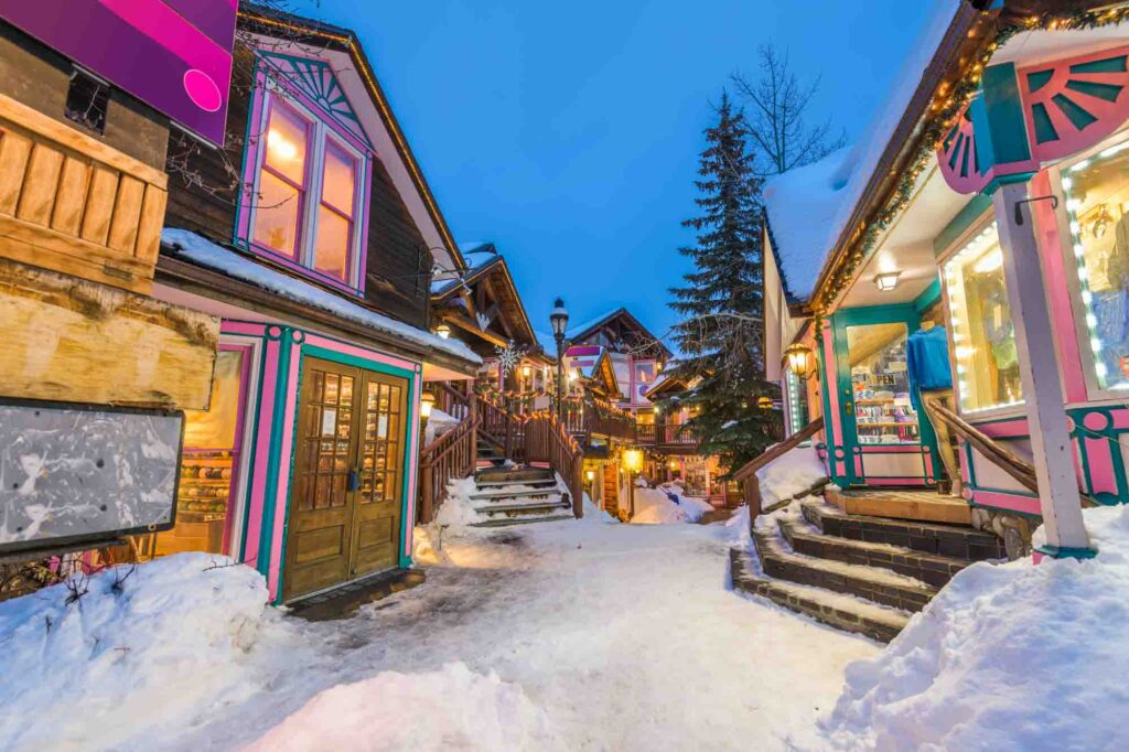 Breckenridge is one of the best places to visit in the US