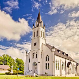 St. John the Baptist Church in Ammannsville is one of the stunning painted Churches of Texas
